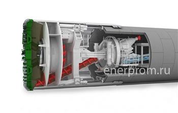 Проходческий щит УУТ-1200 - гидравлическое оборудование Энерпром