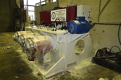Гидравлическое оборудование стенда для испытаний сейсмоизолирующих систем