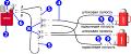 Система с несколькими рабочими механизмами двухстороннего действия, работающими от насосной станции с электро-, бензо-, пневмоприводом