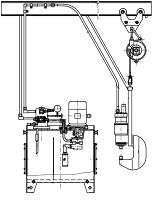 Схема монтажная подвесного гидравлического агрегата