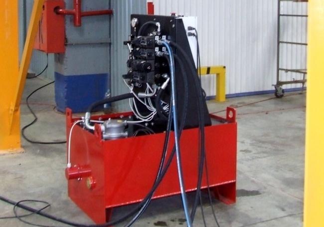 Двухпортовая насосная станция для системы клепаторов SKD-35200