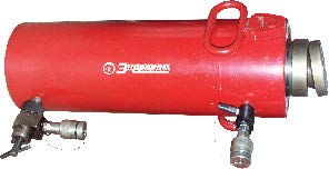 Цилиндры силовые с гидравлическим возвратом штока для систем перемещения
