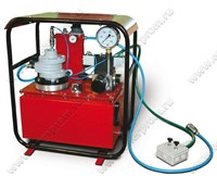 Гидростанция с пневмоприводом и ручным управлением НПР