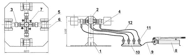Схема установки УРБ20-4