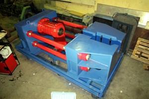 Стенд СКР-630 для распрессовки осей колесных пар РУ1, РУ1Ш, РВ2Ш грузовых железнодорожных вагонов