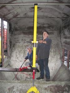 Устройство для правки крыши вагонов-хопперов УПК-ВХ