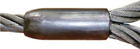 Строп, опрессованный втулкой Flemish eye