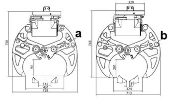 Позиции челюстей бетонолома 430 DE T34