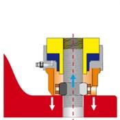 5. Снять нагрузку со шпильки сбрасыванием гидравлического давления. Разъемное соединение затянуто.
