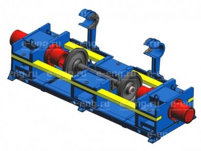 Гидравлический автоматизированный пресс ПГКП-630/200 для распрессовки колесных пар