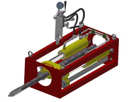Установка для управляемого прокола грунта из колодца УПГК-20У