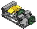 Стенд для распрессовки осей колесных пар, СКР-400