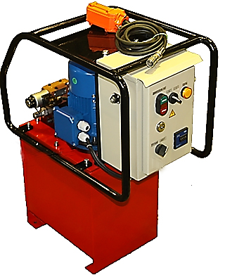 Станции насосные с электромагнитным гидрораспределителем с автоматическим управлением