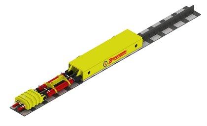 Гидравлический толкатель по тавровой балке ТТБ100Г600