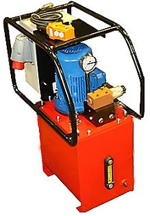 Маслостанции с электромагнитным гидрораспределителем с автоматическим управлением