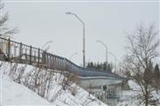 Общий вид доподъемки моста