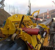 Установка проталкивания труб в тоннельный переход УПТ-700