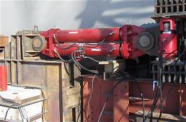 Гидравлический толкатель для надвижки мостовых конструкций при строительстве моста через Амурскую протоку, г. Хабаровск, 2014 г